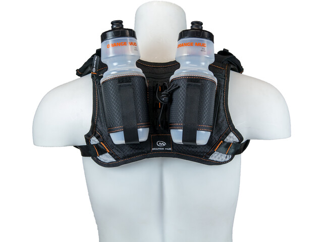 Orange Mud Hydra Quiver Hydration Pack Double black
